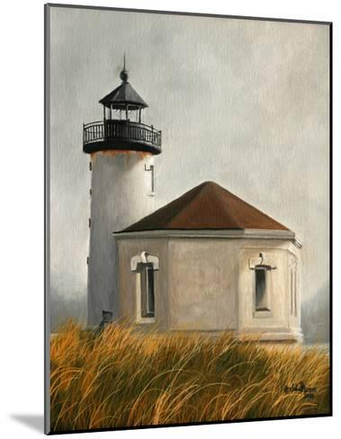 Coquil Lighthouse-Julie Peterson-Mounted Art Print