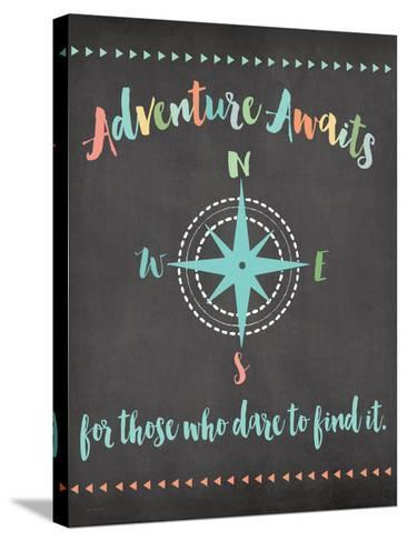 Adventure Awaits-Jo Moulton-Stretched Canvas Print
