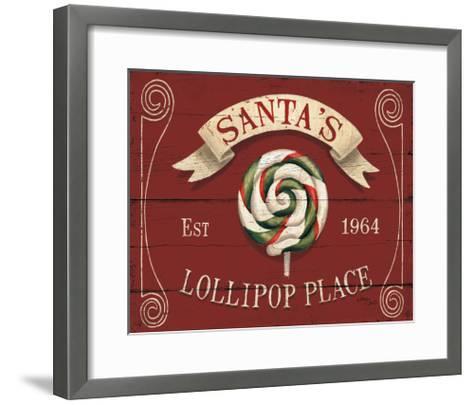 Holiday Candy Shops IV-Jim Wellington-Framed Art Print