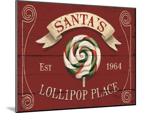 Holiday Candy Shops IV-Jim Wellington-Mounted Art Print