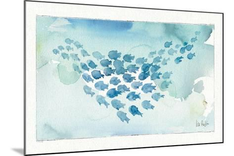 Sea Life I-Lisa Audit-Mounted Art Print