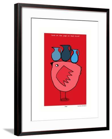 Jugs (Red)-Corrina Rothwell-Framed Art Print