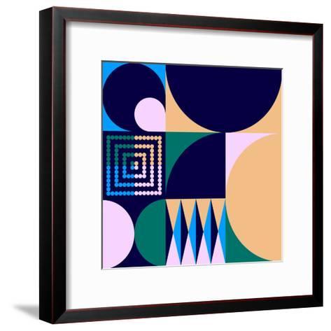 Geo #4-Greg Mably-Framed Art Print