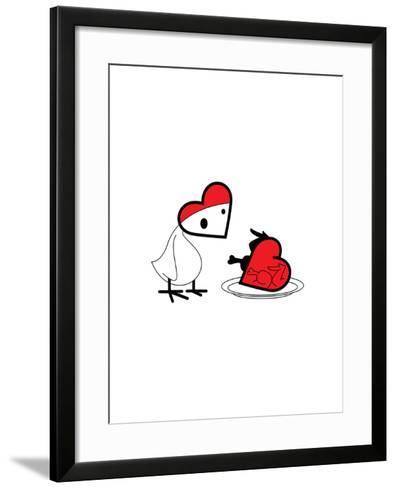 Hot Chick-Thomas Fuchs-Framed Art Print