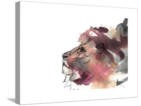 Leo 1-Nina Dogmetchi-Stretched Canvas Print
