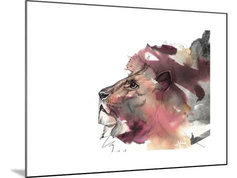 Leo 1-Nina Dogmetchi-Mounted Giclee Print