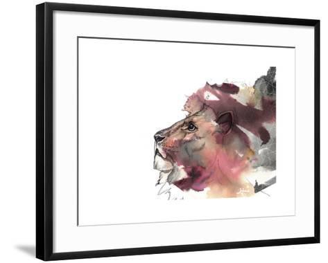 Leo 1-Nina Dogmetchi-Framed Art Print