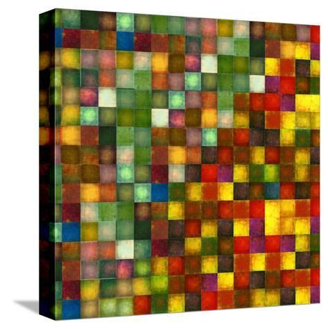 Earthy Geometric Background Image And Design Element-nagib-Stretched Canvas Print