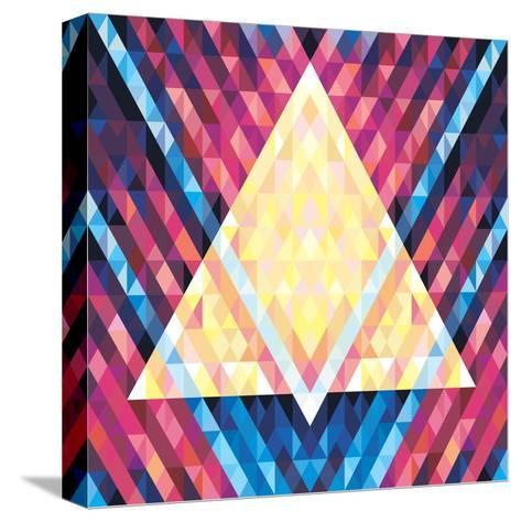 Geometric Pattern 02- serkorkin-Stretched Canvas Print