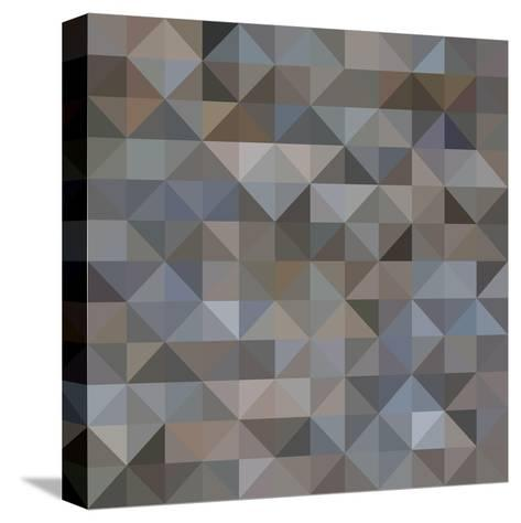 Abstract Triangle Background-epic44-Stretched Canvas Print