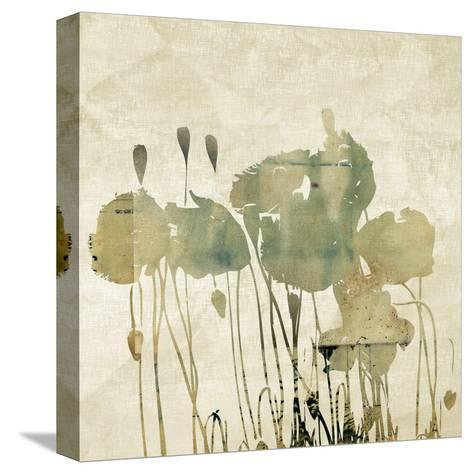Art Floral Grunge Graphic Background-Irina QQQ-Stretched Canvas Print