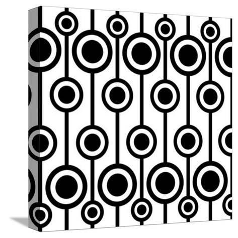 Seamless Retro Pattern-katritch-Stretched Canvas Print