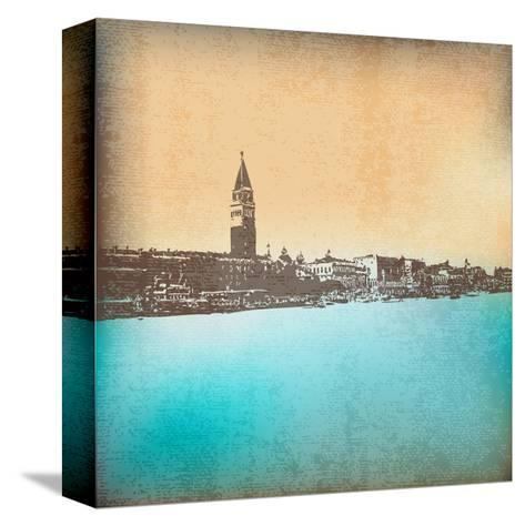 Venetian Vintage Background-Petrafler-Stretched Canvas Print