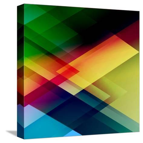 Abstract Colorful-Click Bestsellers-Stretched Canvas Print