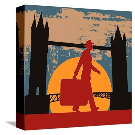 London Break-Petrafler-Stretched Canvas Print