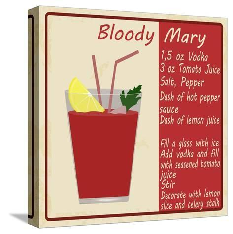 Bloody Mary Cocktail-radubalint-Stretched Canvas Print