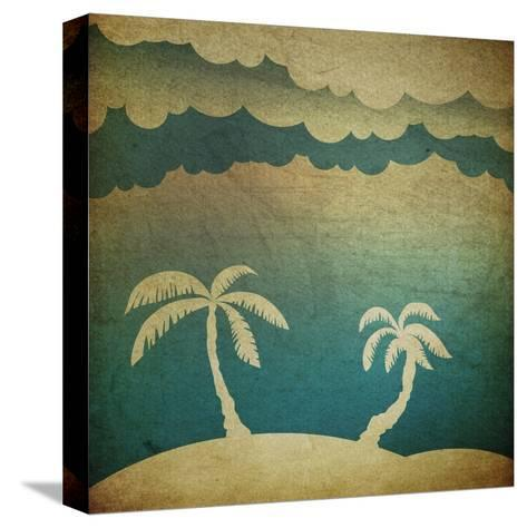 Summer Travel Concept Background-pashabo-Stretched Canvas Print