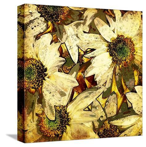 Art Floral Vintage Colorful Background. To See Similar, Please Visit My Portfolio-Irina QQQ-Stretched Canvas Print