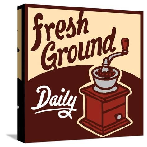 Fresh Ground-Bigelow Illustrations-Stretched Canvas Print