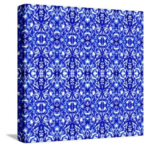 Kaleidoscope Texture Pattern-Medusa81-Stretched Canvas Print