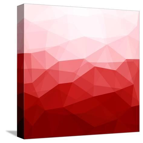 Abstract Red Background-epic44-Stretched Canvas Print