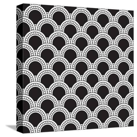 Geometrical Pattern-matik22-Stretched Canvas Print