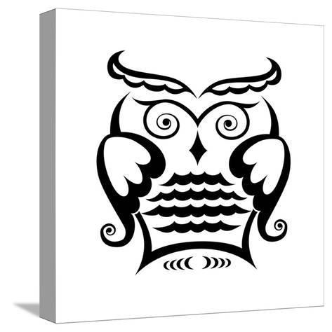 Owl-matik22-Stretched Canvas Print