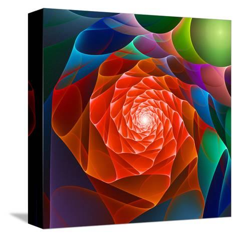 Chaos Space Flower- sgame-Stretched Canvas Print
