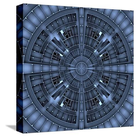 Architectural Background Basis- NesaCera-Stretched Canvas Print