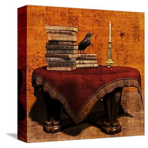 Mysterious Table-Petrafler-Stretched Canvas Print