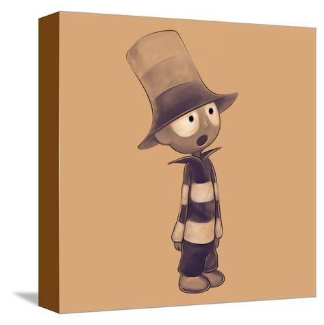 Littleboy-Andrius Repsys-Stretched Canvas Print