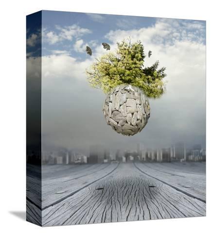 New World-ValentinaPhotos-Stretched Canvas Print