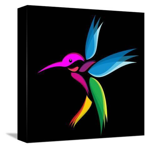 Hummingbird-yod67-Stretched Canvas Print