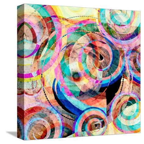Abstract Colorful Background-Tanor-Stretched Canvas Print
