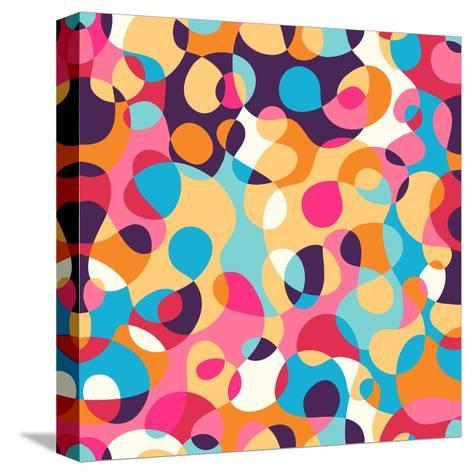Abstract Pattern-Magnia-Stretched Canvas Print