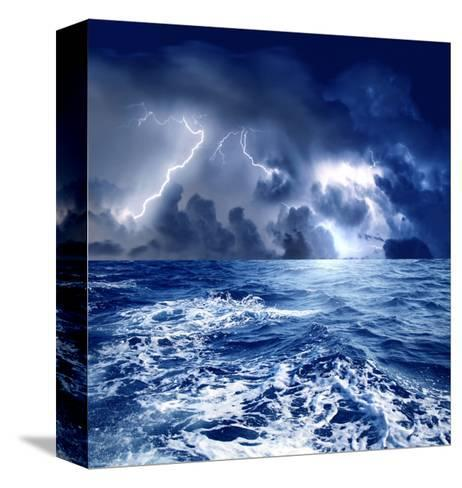 Storm-olly2-Stretched Canvas Print