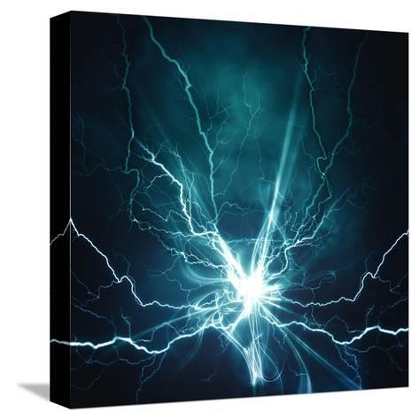 Electric Lighting Effect-dtolokonov-Stretched Canvas Print