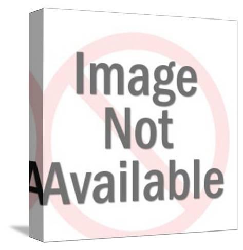 Stong Man Lifting Large Cupcake-Pop Ink - CSA Images-Stretched Canvas Print