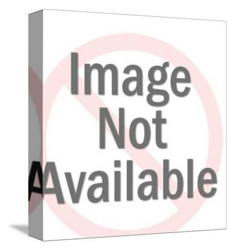 Picture of Couple-Pop Ink - CSA Images-Stretched Canvas Print
