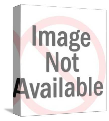 Caduceus Medical Symbol-Pop Ink - CSA Images-Stretched Canvas Print