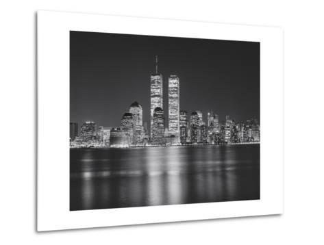 Manhattan, World Financial Center, Night - New York City, Landmarks at Night-Henri Silberman-Metal Print