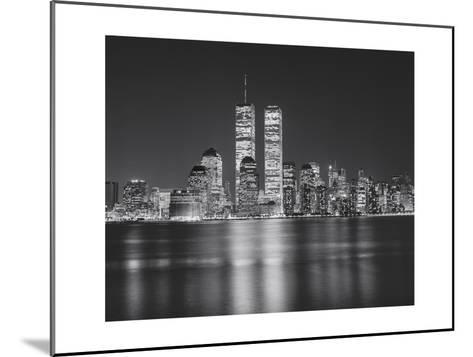 Manhattan, World Financial Center, Night - New York City, Landmarks at Night-Henri Silberman-Mounted Photographic Print