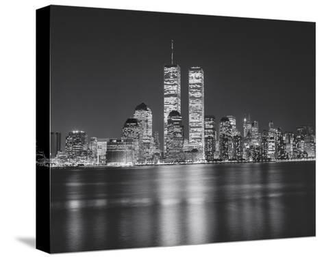 Manhattan, World Financial Center, Night - New York City, Landmarks at Night-Henri Silberman-Stretched Canvas Print