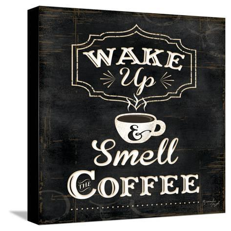 Wake Up and Smell-Jennifer Pugh-Stretched Canvas Print