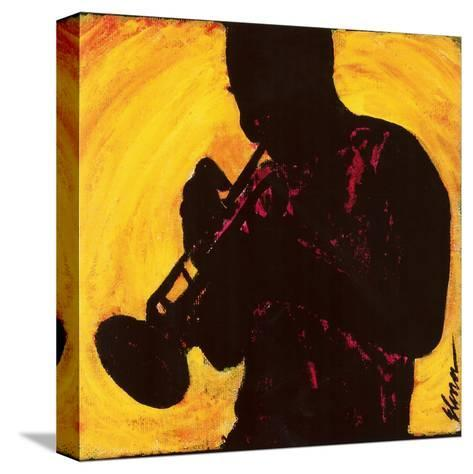 The Man with the Horn--Stretched Canvas Print