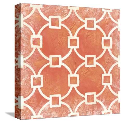Modern Symmetry VIII-Chariklia Zarris-Stretched Canvas Print