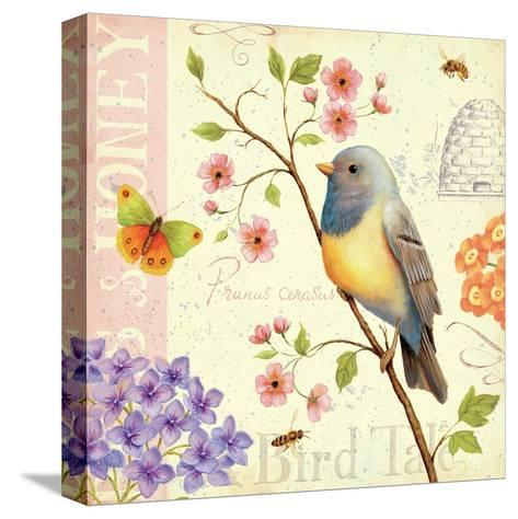 Birds and Bees I-Daphne Brissonnet-Stretched Canvas Print
