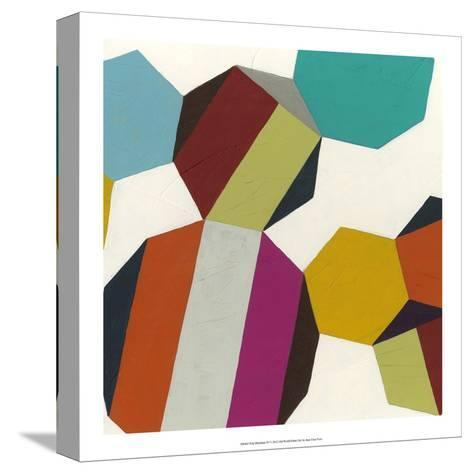 Poly-Rhythmic IV-Erica J^ Vess-Stretched Canvas Print