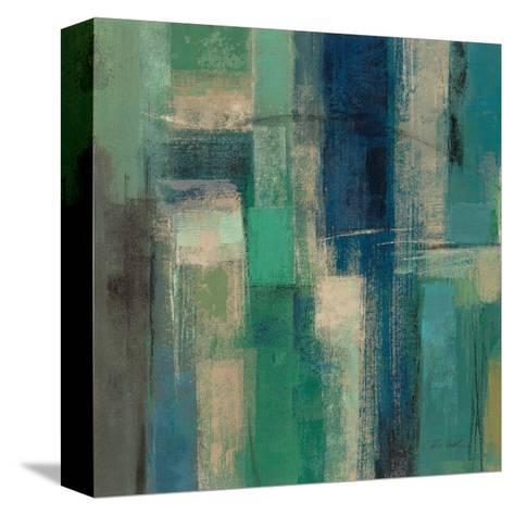 Emerald Fields Square I-Silvia Vassileva-Stretched Canvas Print