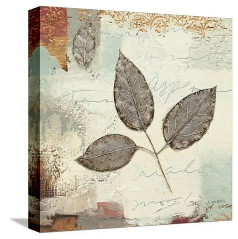 Silver Leaves II-James Wiens-Stretched Canvas Print